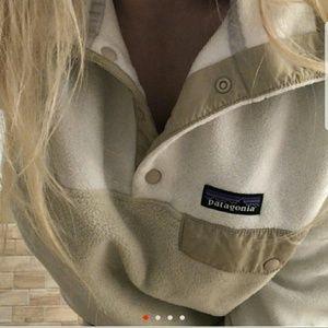 😍 worn once cutest Patagonia synchila fleece sz L